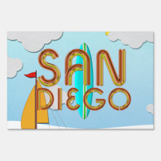 TEE San Diego Lawn Sign