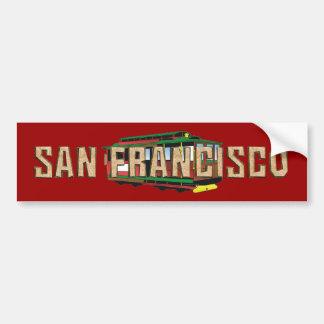 TEE San Francisco Bumper Sticker