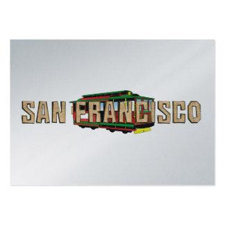 TEE San Francisco Large Business Card