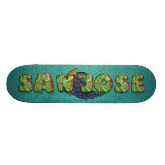 TEE San Jose Skateboard Deck
