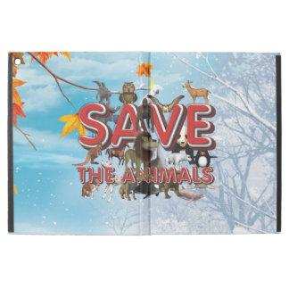TEE Save the Animals iPad Pro Case
