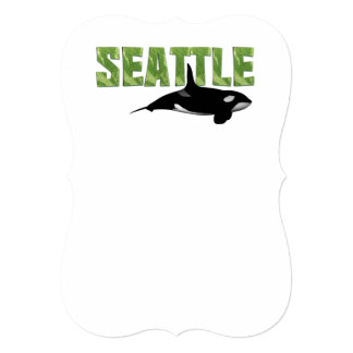 TEE Seattle 5x7 Paper Invitation Card