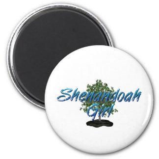 TEE Shenandoah Woman Magnets