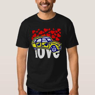 tee-shirt 2CV heart Shirt