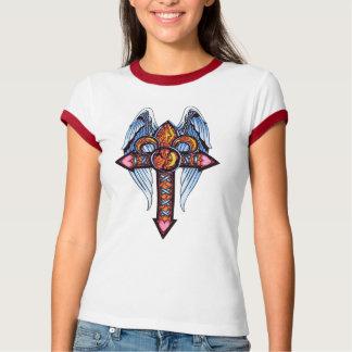 Tee-shirt, 9-11 Saints Cross T-Shirt