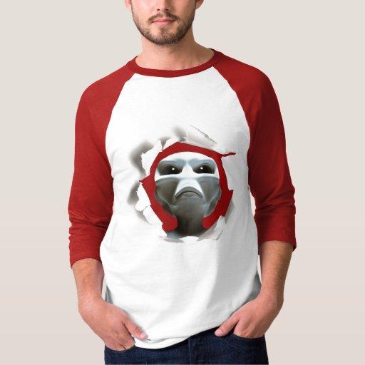 Tee-shirt Alien UFO Tees