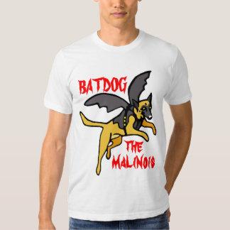 Tee-shirt Batdog the malinois Shirts