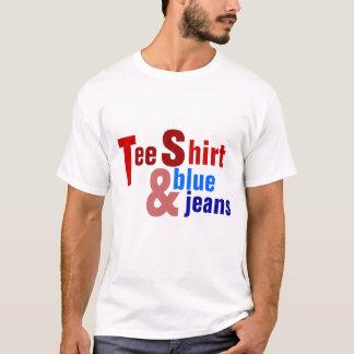 Tee Shirt & Blue Jeans