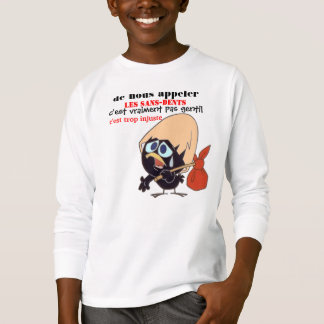 """tee-shirt """"Caliméro, without-teeth"""" long sleeves T-Shirt"""
