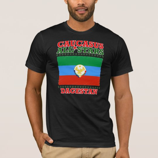 Tee-shirt Caucasus Al Dagestan Stars T-Shirt