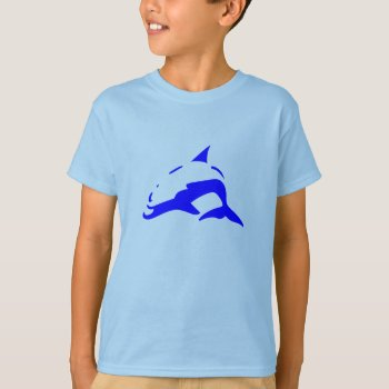 Tee Shirt Character Image Dolphin by CREATIVEforKIDS at Zazzle