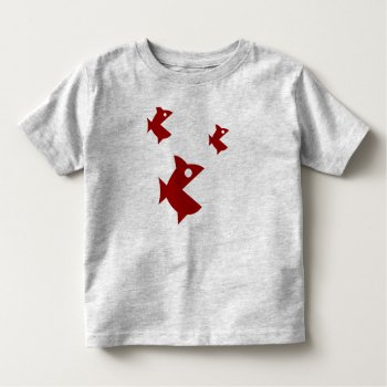 Tee Shirt Character Image Fishes by CREATIVEforKIDS at Zazzle