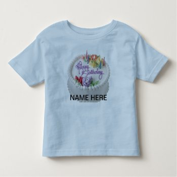 Tee Shirt Character Image Happy Birthday by CREATIVEforKIDS at Zazzle