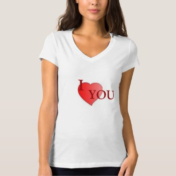 Tee Shirt Character Image I Heart You by creativeconceptss at Zazzle