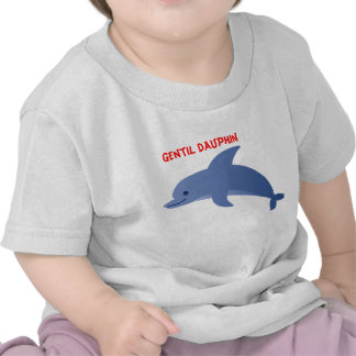 "tee-shirt child ""dolphin """