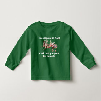 tee-shirt Christmas gifts Toddler T-shirt