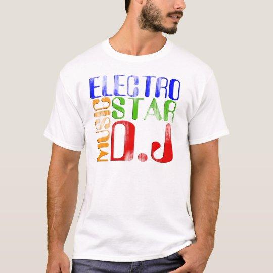 TEE-SHIRT Electro music star DJ T-Shirt