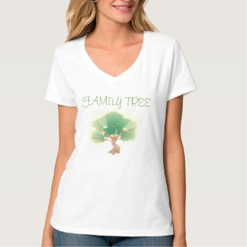 Tee Shirt Family Tree by CREATIVEforKIDS at Zazzle