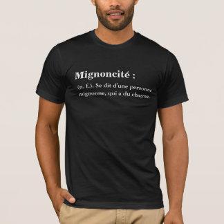 "Tee-shirt for man ""Mignoncité "" T-Shirt"