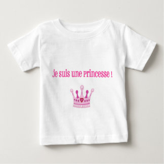 """Tee-shirt girl """"I am a princess""""/12 months T Shirt"""