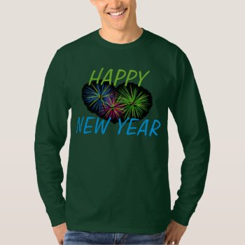 Tee Shirt  Happy New Year 2013  Red And Gold by creativeconceptss at Zazzle