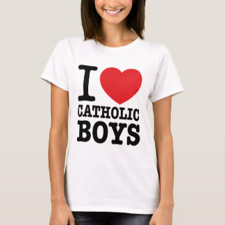 "Tee-shirt ""I coils Catholic Boys "" T-Shirt"