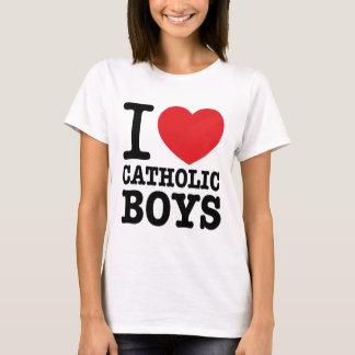 "Tee-shirt ""I coils Catholic Boys "" T-Shirt"