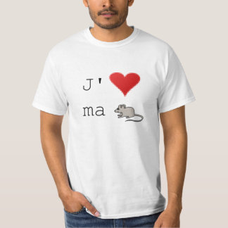 Tee-shirt I love My Mouse T-Shirt