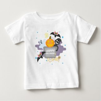 Tee-shirt Jersey End Halloween Baby Baby T-Shirt