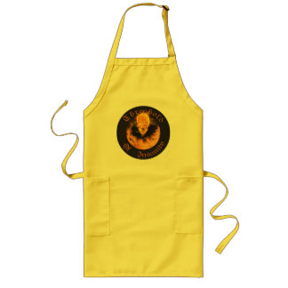 tee shirt logo - drum banner long apron