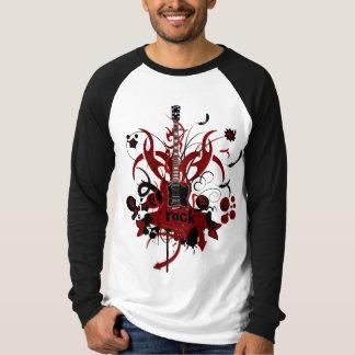 Tee-shirt man long sleeves two-tone Rock'n'roll T-Shirt