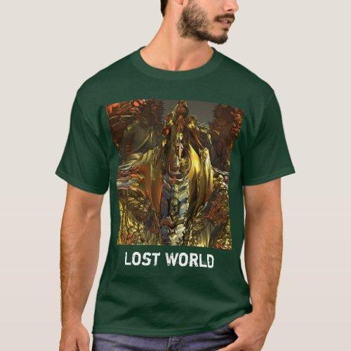 Tee_shirt man âœWorld Lostâ to personalize T_Shirt