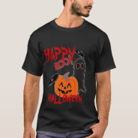 TEE SHIRT MENS BOO  TEE HALLOWEEN