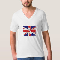 TEE SHIRT MENS BRITAIN FLAG