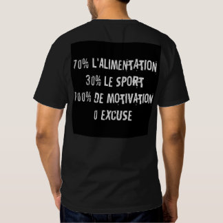 "Tee-shirt ""Motivation No Bread No Profit "" Tee Shirt"