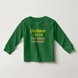 tee-shirt Occitanie it is nice Toddler T-shirt