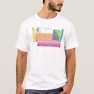 Tee-shirt periodic table off elements T-Shirt