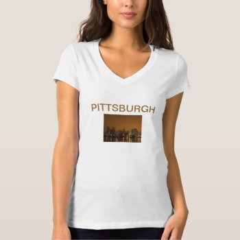 Tee Shirt Photo Image Pittsburgh by creativeconceptss at Zazzle