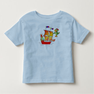 tee-shirt pirates boat toddler t-shirt
