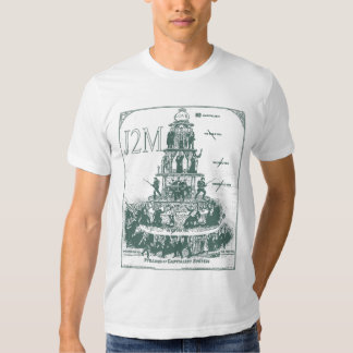 tee-shirt pyramid off capitalism system J2M Tee Shirt