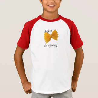 "tee-shirt ""sporting meal "" T-Shirt"
