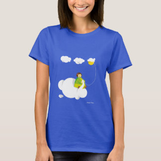 "Tee-shirt ""the knitting machine of cloud "" T-Shirt"
