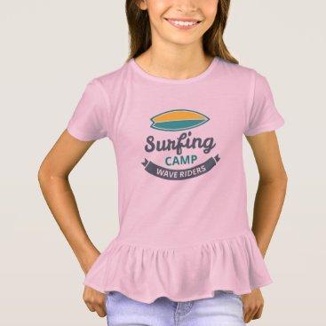 Tee-shirt To dishevel Girl Surfing T-Shirt