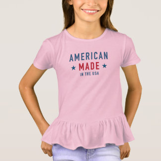 Tee-shirt To dishevel Girl the USA T-Shirt