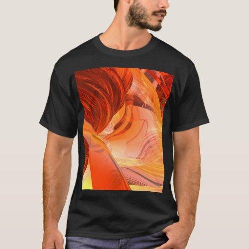 Tee_shirt âœUFO dark Insideâ for man T_Shirt