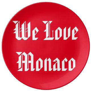 Tee-shirt We Love Monaco Plate