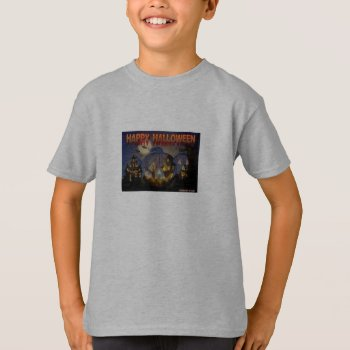 Tee Shirt  With Pumpkin by CREATIVEforKIDS at Zazzle