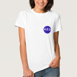 Tee-shirt woman AED Tee Shirt