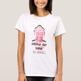 tee-shirt woman Buddha design by ambi. G T-Shirt