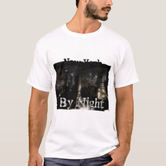 Tee-shirt Woman destroyed NYC By night T-Shirt